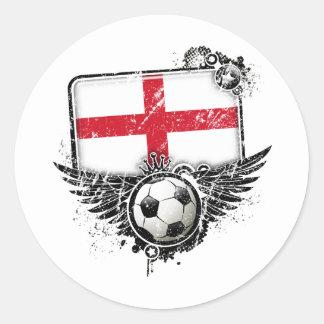 Soccer fan England Stickers