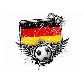 Soccer fan Germany Postcard