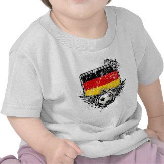 Soccer fan Germany Tee Shirts