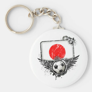 Soccer fan Japan Key Chain