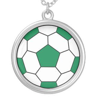 Soccer Fan Kids Pendant Necklace