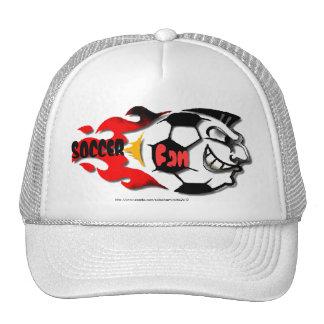 """""""Soccer Fan Madness-ball cap"""" Trucker Hat"""