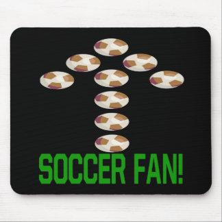Soccer Fan Mouse Pad