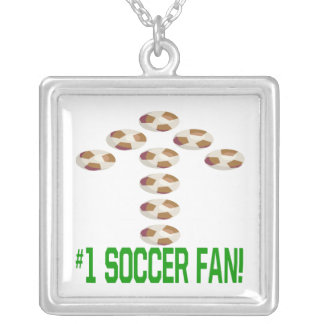 Soccer Fan Personalized Necklace