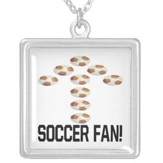 Soccer Fan Custom Necklace