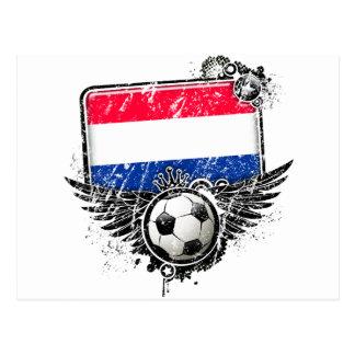 Soccer fan Netherlands Postcard