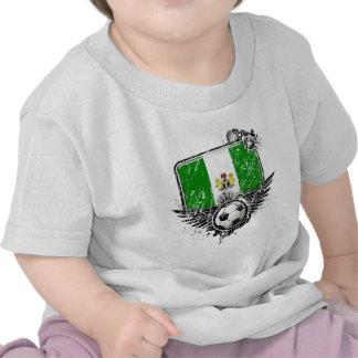 Soccer fan Nigeria T-shirts