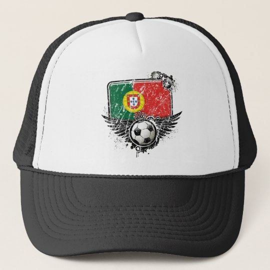 Soccer fan Portugal Trucker Hat