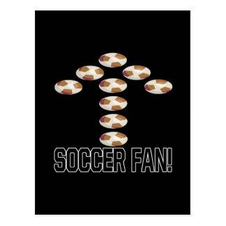 Soccer Fan Postcard