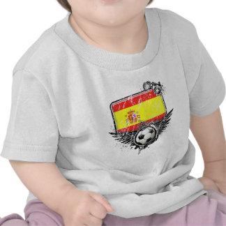 Soccer fan Spain Tshirt