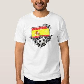 Soccer fan Spain Tshirts