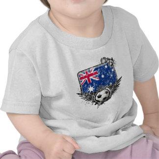 Soccer fans Australia Tees