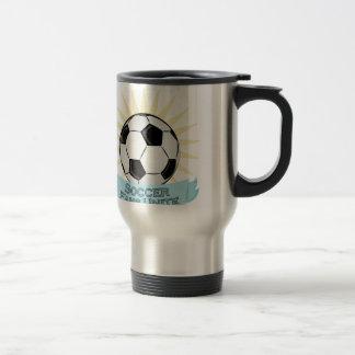 Soccer Fans Unite 15 Oz Stainless Steel Travel Mug