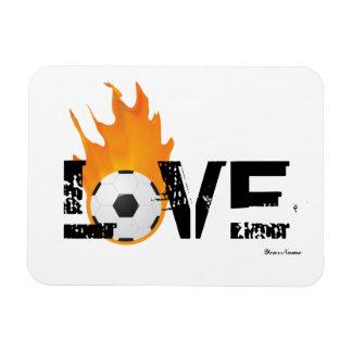 Soccer Fever Premium Magnet