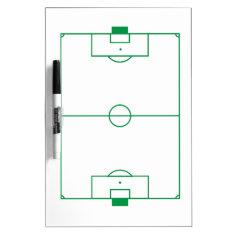 Soccer Field Clipboard Dry-erase Board at Zazzle