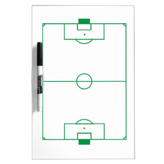 Soccer field clipboard Dry-Erase boards