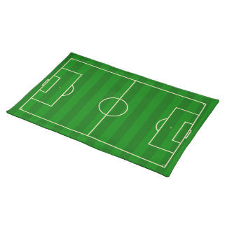 Soccer Field Cloth Placemat