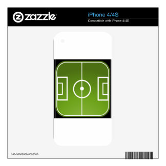 Soccer field decals for the iPhone 4S