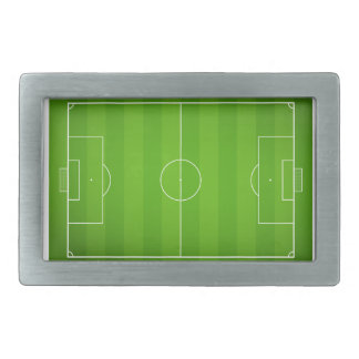 Soccer field Football Belt Buckle