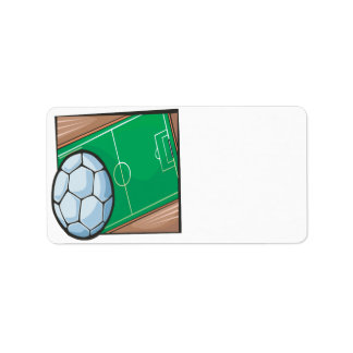 Soccer Field Label