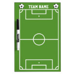 Soccer Field Layout In White And Green Dry-Erase Boards