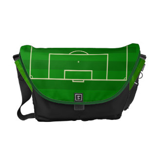 Soccer Field Messenger Bags