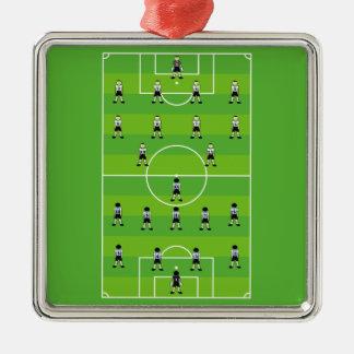 Soccer Field Christmas Ornaments
