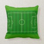 Soccer Field Pillow