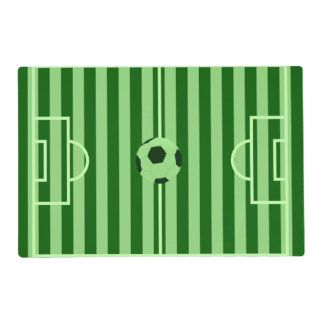 Soccer Field Placemat - Custom Soccer Gifts
