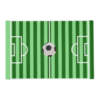 Soccer Field Placemat - Unique Soccer Gifts