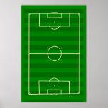 Soccer Field Poster