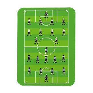 Soccer Field Flexible Magnets