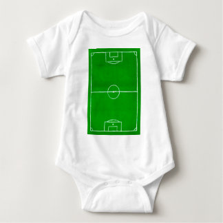 Soccer Field Sketch2 Baby Bodysuit