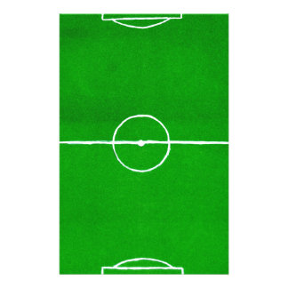 Soccer Field Sketch2 Stationery