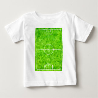 Soccer Field Sketch Baby T-Shirt