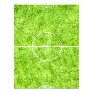 Soccer Field Sketch Letterhead