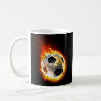 Soccer Fire Ball Mug