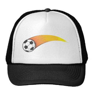 Soccer Fireball Mesh Hats