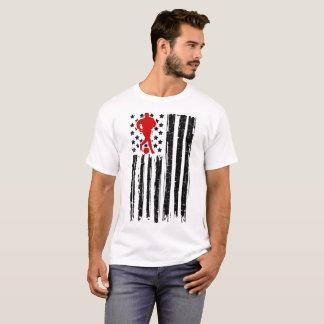 soccer flag  american T-Shirt