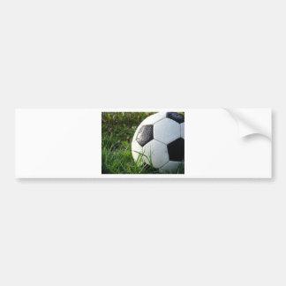 Soccer~ Foot Ball in field Bumper Sticker