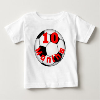 Soccer Football 10  Month Baby Shirt for Baby Pict