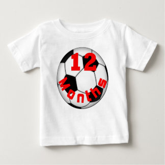 Soccer Football 12 Month Baby Shirt for Baby Pict