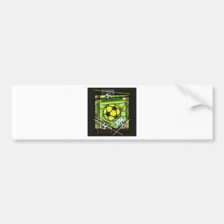 soccer,...football,...2014... bumper sticker