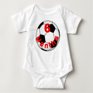 Soccer Football 6 Month Baby Shirt for Baby Pict