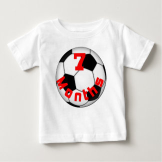 Soccer Football 7 Month Baby Shirt for Baby Pictur