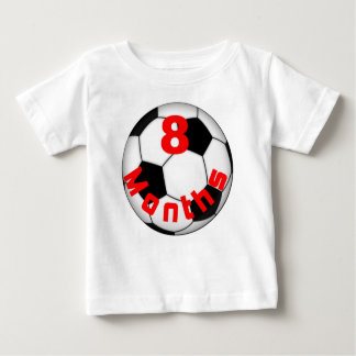 Soccer Football 8 Month Baby Shirt for Baby Pict