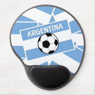 Soccer Football Argentina Flag Gel Mouse Pad