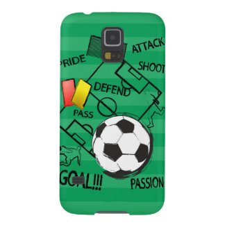 Soccer Football Attack Goal Galaxy S5 Covers