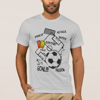 Soccer Football Attack Goal T-Shirt