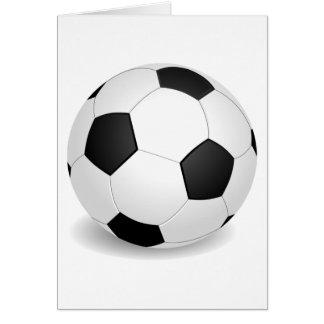 Soccer (Football) Ball Card
